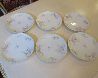 FRANCE HAVILAND LIMOGES Salad Plates