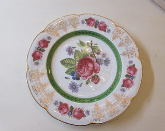 ENGLAND WOOD and SONS Ascot Plate