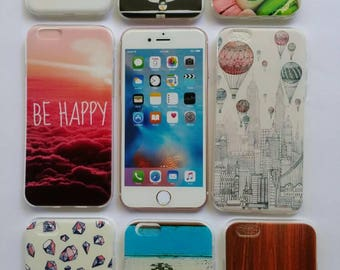 FUN TPU Gel Design Cases (8 pieces deal) for iPhone 6/6S