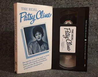 Patsy Cline VHS, Country Music Legend, The Real Patsy Cline Documentary, Loretta Lynn, Mel Tillis, Dottie West featured