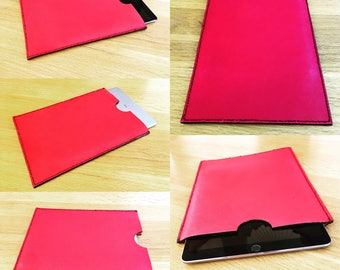 Red Leather iPad Pro Cover