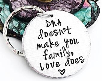 Stepdad Keychain, Stepfather Gift, Gift for Step Dad, Step Parent Keychain, Step Mother Gift, Fathers Day Gift for Stepdad, Bonus Dad