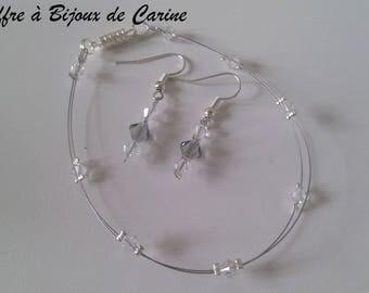 Bracelet Swarovski Crystal, choice of length couleuret tops