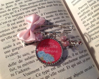 Gift MOM, the sweetest MOM cabochon brooch