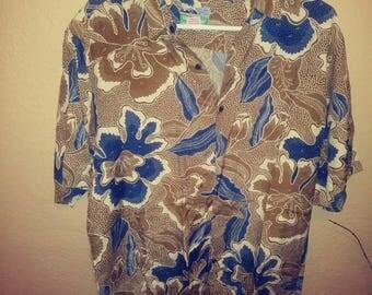 Large vintage Reyn Spooner Hawaiian shirt 44 inch chest