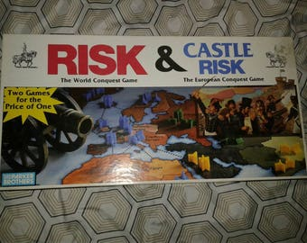 1990 Risk& Castle Risk Board Game