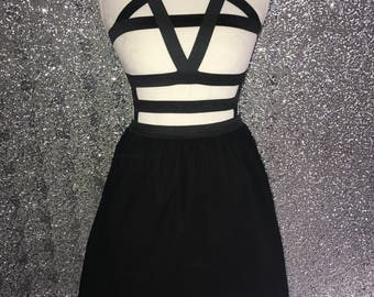 Pentagram Harness Dress