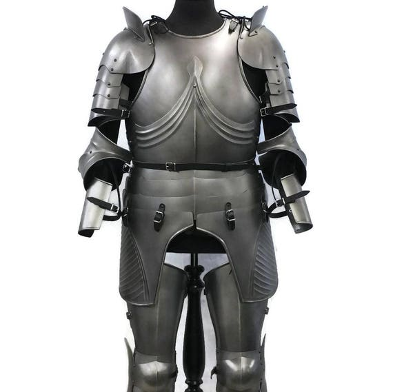 Larp Armor, Medieval Gothic armour set