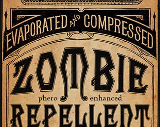 Zombie Repellent w/ Lace & Hedione - Halloween Collection 2016 - for Women - Pheromone Enhanced Fragrance - Love Potion Magickal Perfumerie