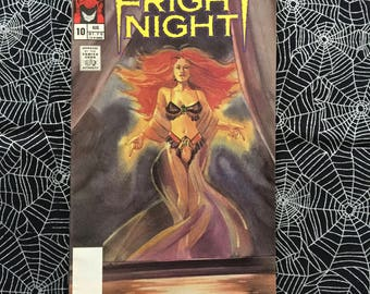 FRIGHT NIGHT Vol 1, No 10 (Comic Book)