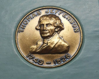 Thomas Jefferson President Medal 1743-1826