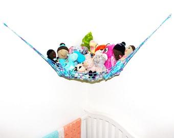 Purple Toy Hammock - Stuffed Animal Storage - Toy Storage - Toy Hammock - Toy Net - Animal Hammock - Kids Toy Storage - Softie Storage