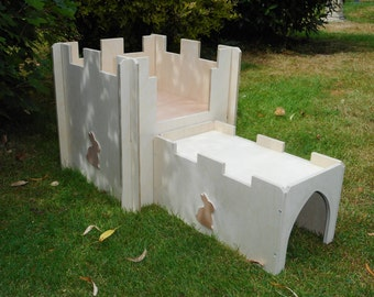 Rabbit Castle with Tunnel