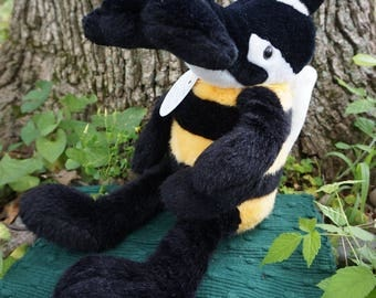 Professor Tailorn. FrankenFuzzie, Soft Sculpture, Stuffed Animal, Toy