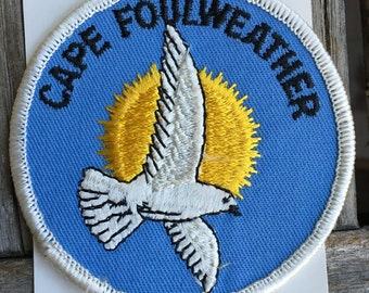 LAST ONE! Cape Foulweather Oregon Vintage Souvenir Travel Patch from Holm Patches