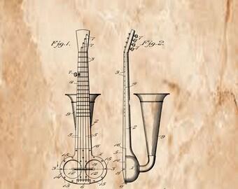 Musical Instrument Patent# 856939 June 11, 1907.