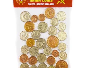 USSR Soviet Russian 30 Kopek Coins 1961-1991 CCCP