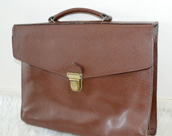Master bag, school bag, vintage leather, satchel, bag satchel