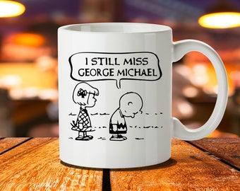 George Michael Mug, Wham, George Michael Print, Faith, 80s, George Michael Art, Careless Whisper, Rip George Michael, George Michael Faith