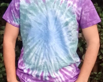 Hippy Gifts, Unique Tie Dye, Tie Dye T-shirt, Alternative Lifestyle, One Off Tie Dye, Gift for Him, Hippy Tshirt, Festival Clothing