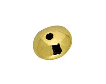 9mm 14K Gold Filled Plain Saucers - 10pcs, 50pcs, 100pcs #202690