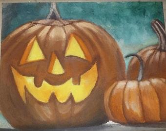 Halloween/Fall Painting