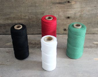 Bakers Twine - Soft Twine - Colorful Twine - 5 Yards Bundles -  Craft Supplies - Colorful String - Crafting