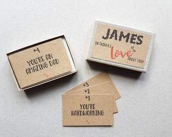 Vriendin cadeau, 10 dingen die ik leuk vind u Gift Box, vriendje cadeau, verjaardag kous Filler, Kerstmis, liefde kaart, huwelijksgeschenk, papier