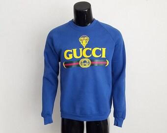 Vintage Gucci Crewneck Sweatshirt Sz. XL
