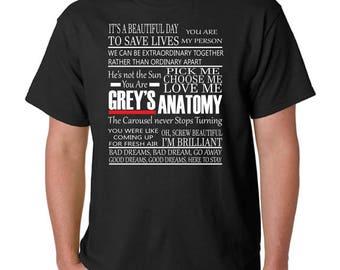 Grey's Anatomy | Grey's Anatomy Shirt | Greys Anatomy Sweatshirt | Greys anatomy Hoodie | Grey's Anatomy Quotes