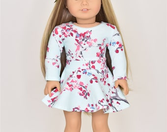 Cropped  Top 18 inch doll clothes Short Sleeve