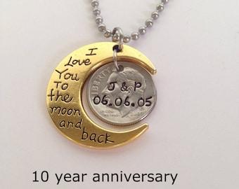 10th Wedding Anniversary Gift 10 Year Anniversaries