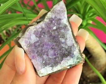 Small Amethyst Cluster Quartz / Healing Crystals and Stones