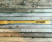 Back scratcher personalized - Wood gift for man - Groomsmen gift custom - Useful gift for men - Fiance gift for him Christmas or Fathers Day
