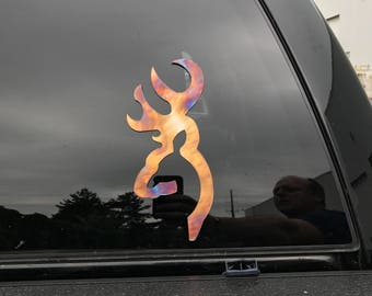 Stainless Steel Sign Cutout Deer