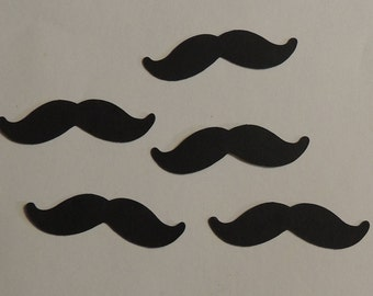 Mustache Die Cuts