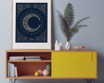 """Luna Art Print 