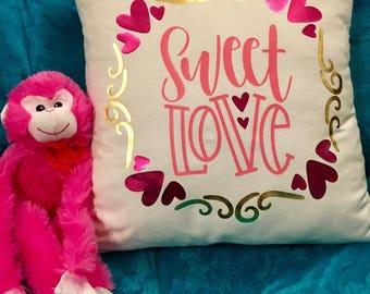 Decorative Pillow - Valentine's Day Decor
