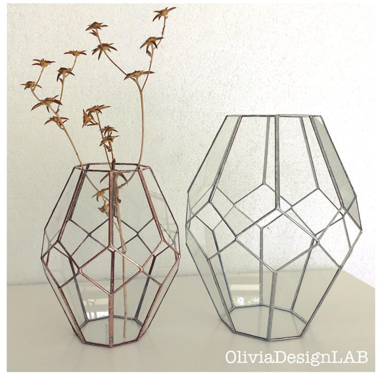 Geometric glass lantern moroccan style wedding centerpiece geometric glass lantern moroccan style wedding centerpiece glass vase dry flowers glass candle holder reviewsmspy
