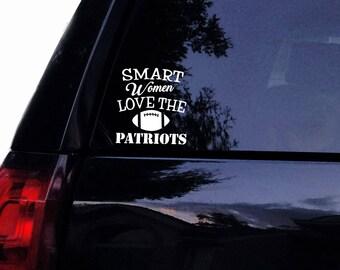 Patriots Decal Etsy - Unique car decals stickers