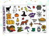 Misc. Autumn/Fall Planner Stickers