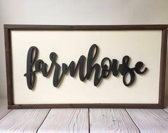 Farmhouse Decor - Farmhouse Sign - Wood Signs - Kitchen Signs - Signs - Rustic Home Decor - Home Decor - Wall Art - Wall Decor - Wood