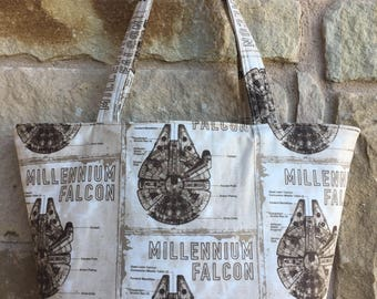 Star Wars Inspired Millennium Falcon Handbag/Shoulder Bag
