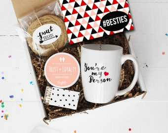 Besties Gift Box - Thinking of You Gift | Best Friend Gift | Friend Gift | Birthday Gift | Gift For Her | #besties | BFF