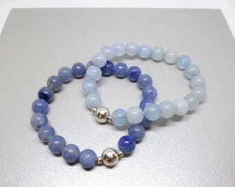 Gemstone bracelet set, bracelet stack, set of bracelets, bracelet set, gemstone stacking bracelet, inner peace, calmness, stress relief, zen