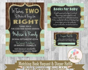 Joint Baby Shower Etsy