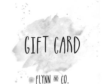 flynn & co. gift card