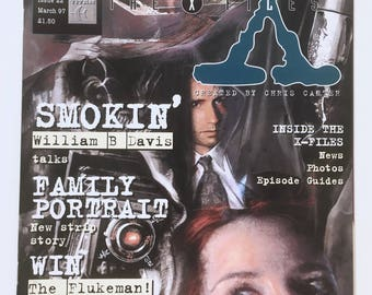 X-Files Magazine, Vintage Comic, Episode Guide, Cigarette Smoking Man, UK Issue 22, The Truth is Out There, Mint Condition