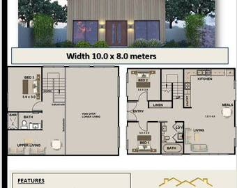 140m2 3 Bedroom small 3 bedroom plans small home