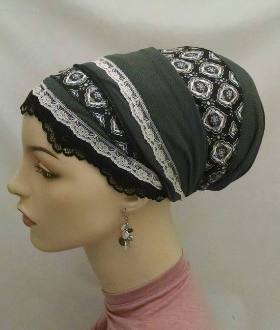 Classic with a twist sinar tichel, tichels, chemo scarves, head scarf, head wraps